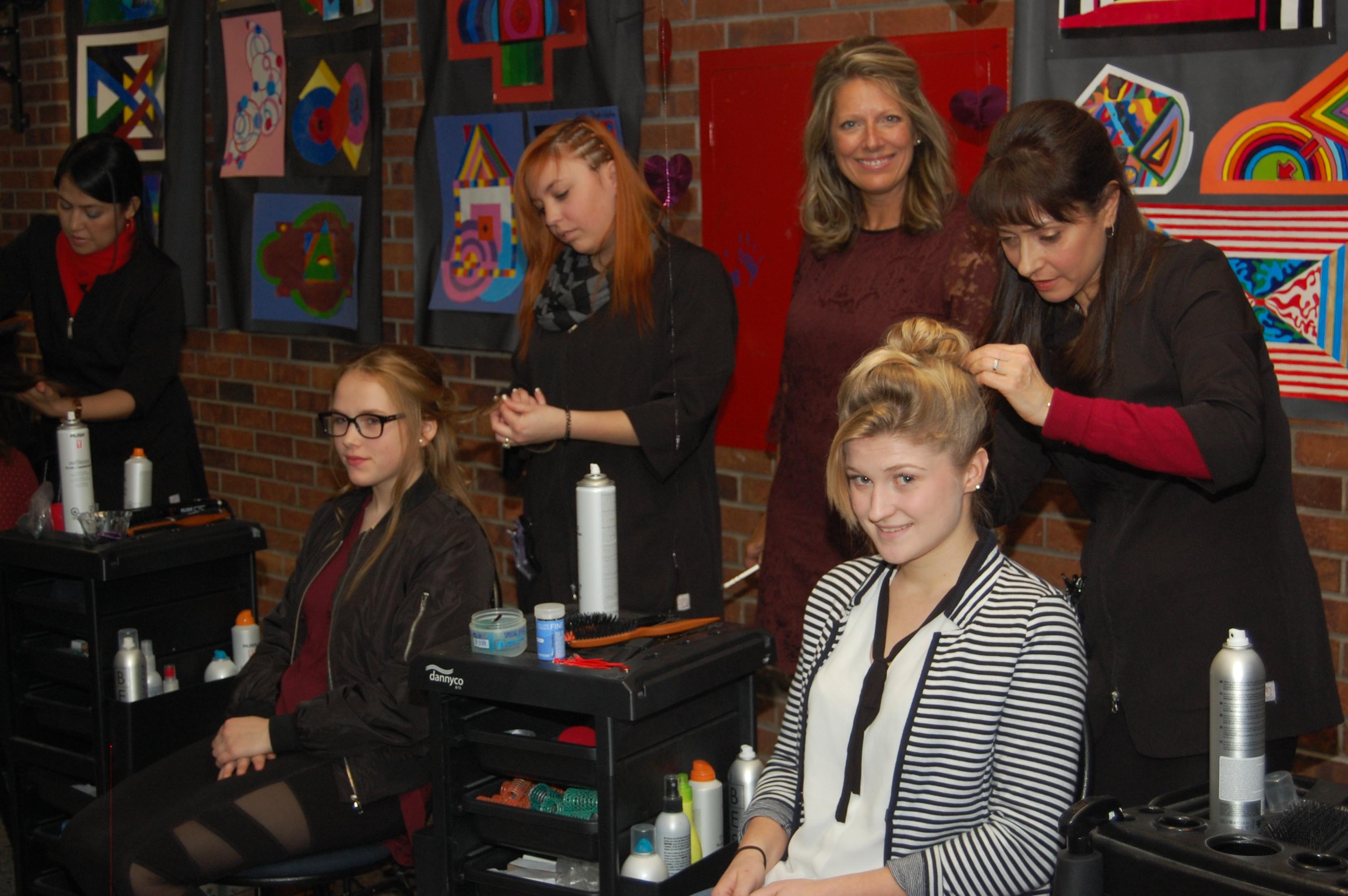Concours de coiffure CRIF-JHL du 14 février 2017