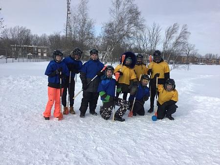 Nouveau sport hivernal à JHL