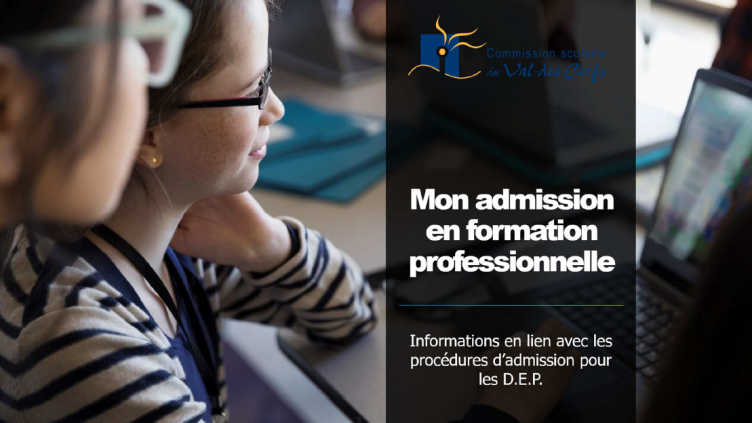 Admission à la formation professionnelle